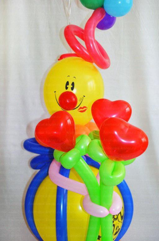 Как сделать клоуна своими руками фото 872