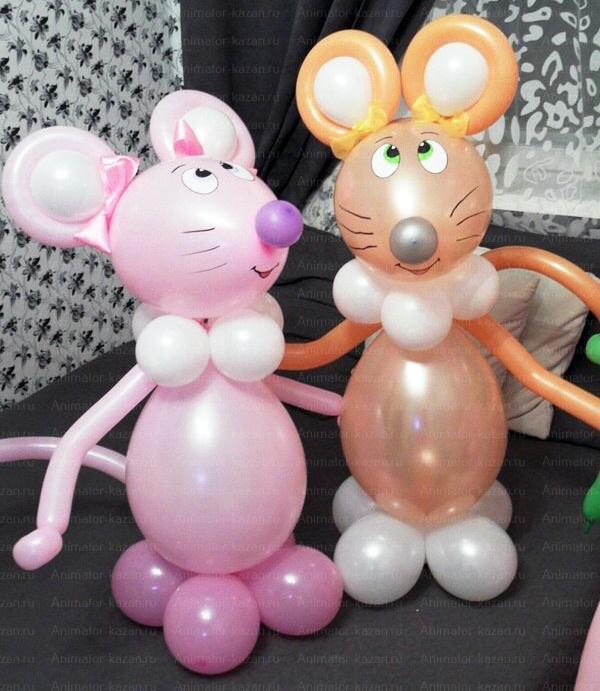Фигуры из шаров легкие