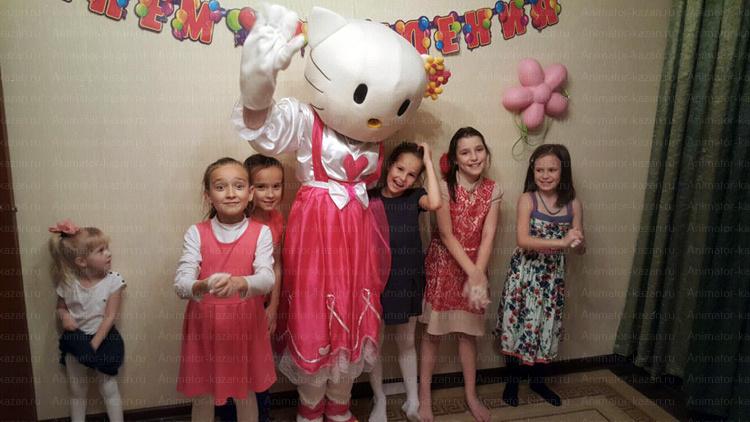 Отзыв о ростовой кукле Китти от animator-kazan.ru