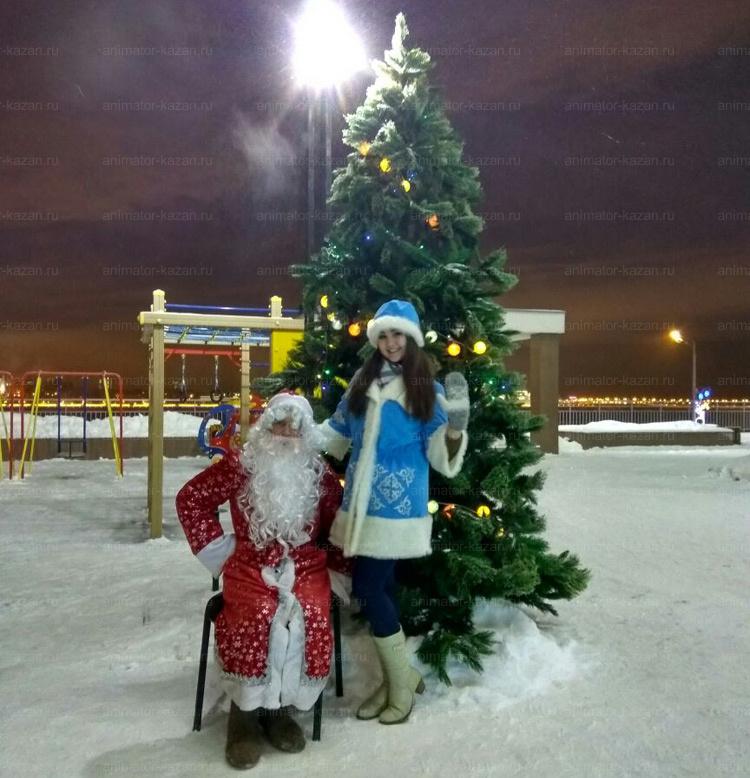 Отзыв о Дед Морозе и Снегурочке от animator-kazan.ru