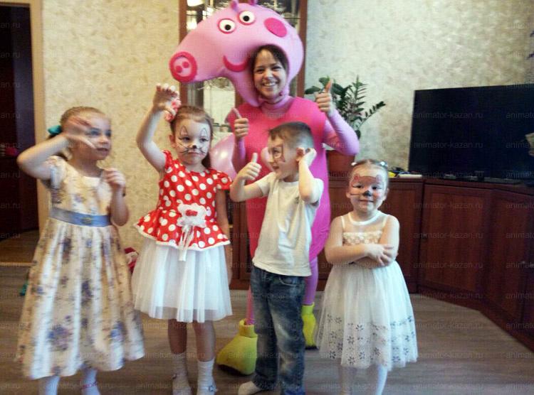 Отзыв о Свинке Пеппе от animator-kazan.ru