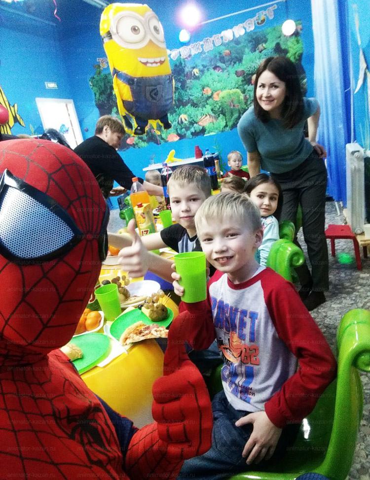 Отзыв о Человеке - пауке и Миннионе от animator-kazan.ru