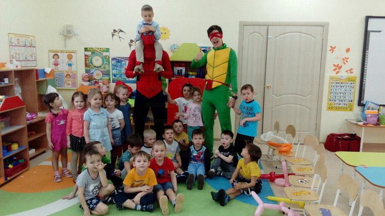 Отзыв о Человеке -пауке и Черепашке Ниндзя от animator-kazan.ru