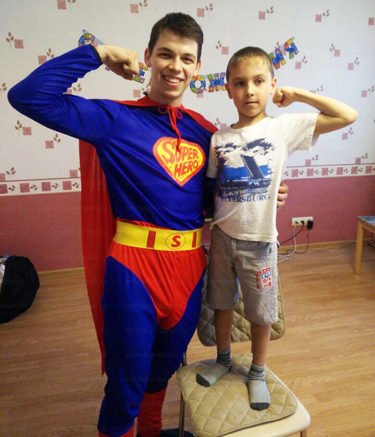 Отзыв о Супермене от animator-kazan.ru