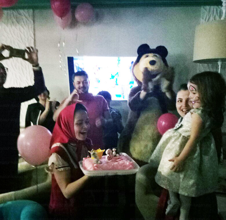 Отзыв о Маше и медведе от animator-kazan.ru