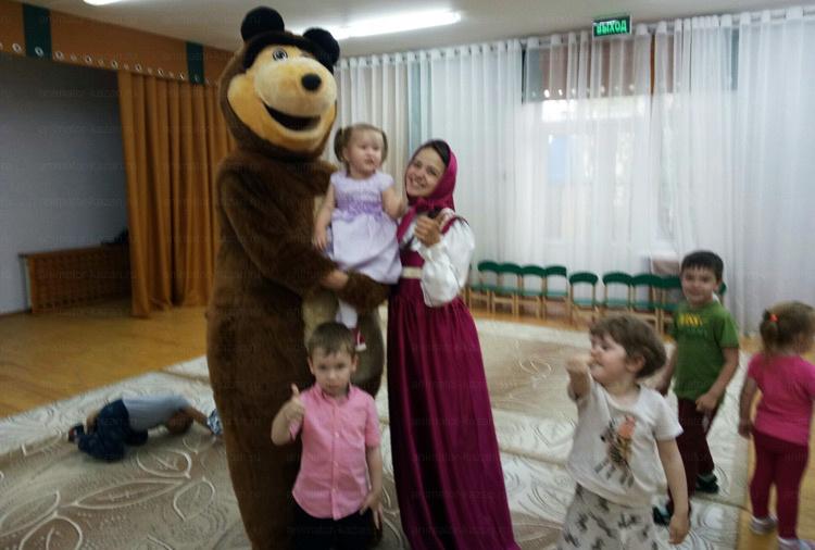 Отзыв о Машеньке и медведе от animator-kazan.ru