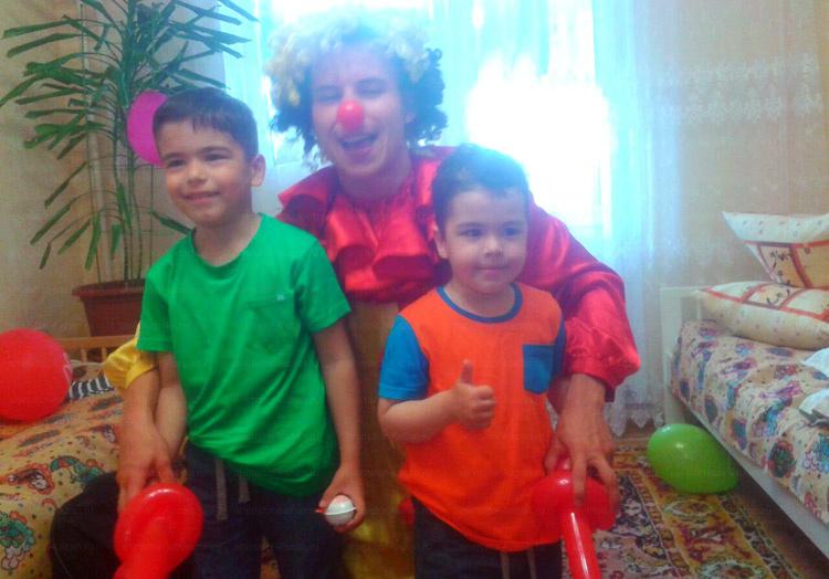 Отзыв об экспресс-поздравлении с клоуном от animator-kazan.ru