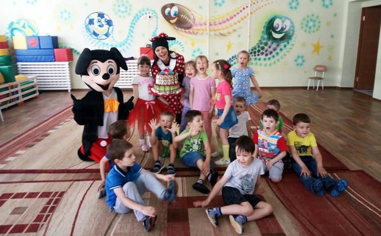 Отзыв о Микки и Минни Маус от animator-kazan.ru
