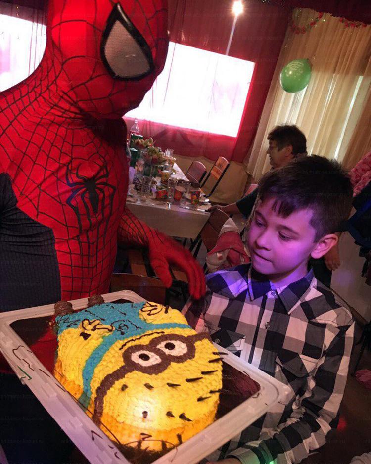 Отзыв о Человеке-пауке от animator-kazan.ru
