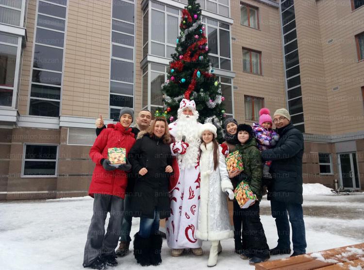 Отзыв о новогоднем празднике от animator-kazan.ru