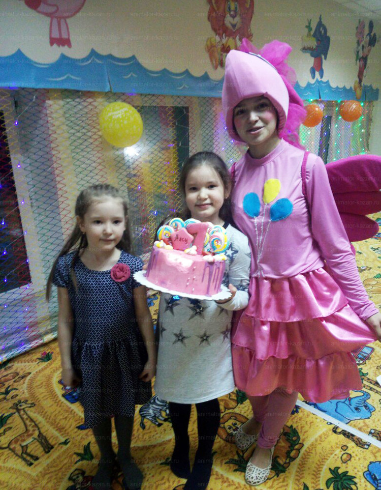 Отзыв о Пинки Пай от animator-kazan.ru