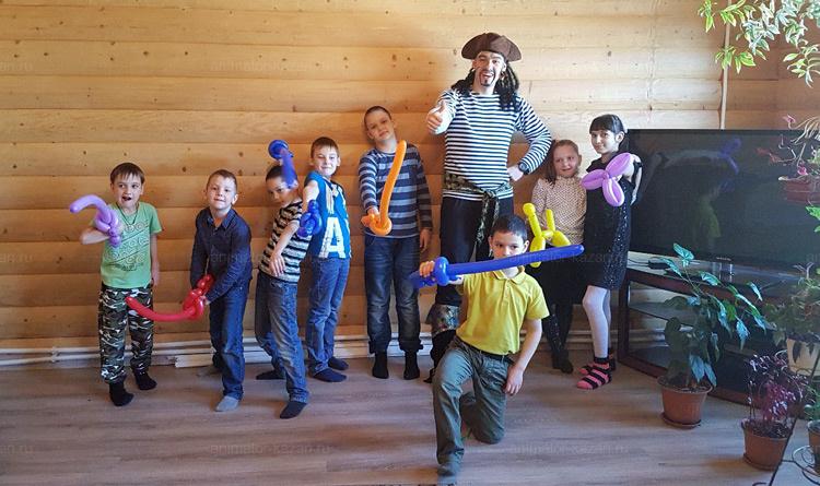 Отзыв о квесте с пиратами от animator-kazan.ru