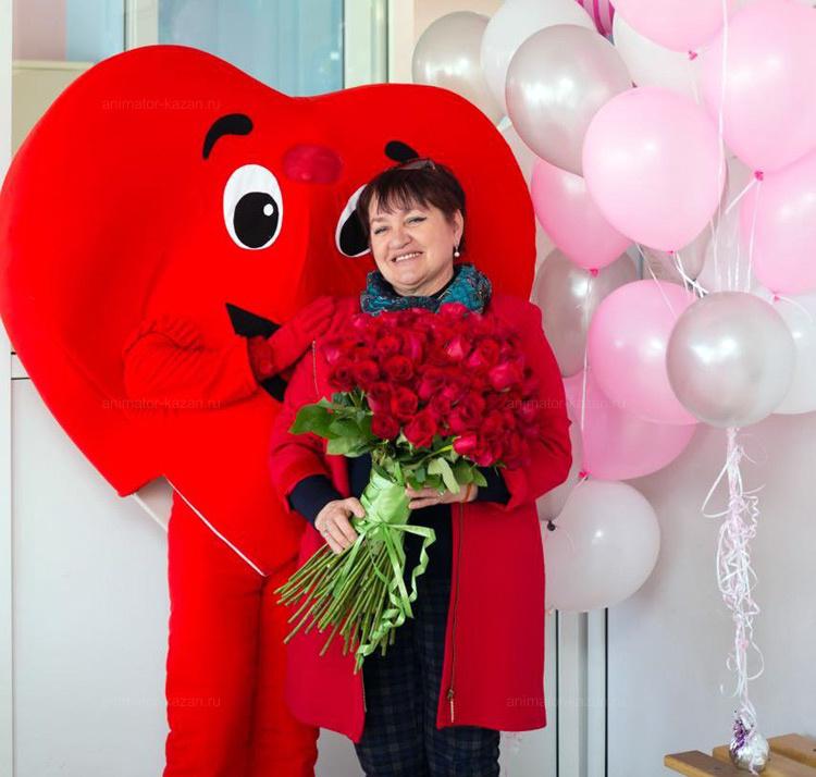 Отзыв о ростовой кукле Сердце от animator-kazan.ru