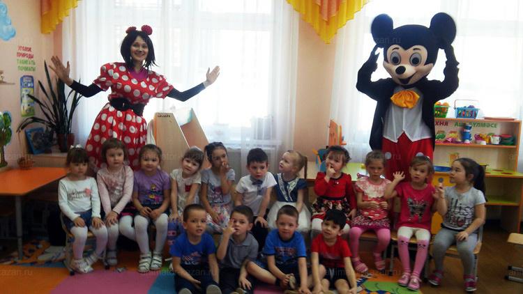 Отзыв о Минни и Микки Маусе от animator-kazan.ru