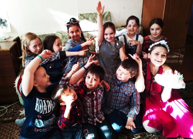 Отзыв о стиляжной вечеринке от animator-kazan.ru