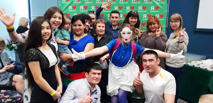 Отзыв о Мим шоу от animator-kazan.ru