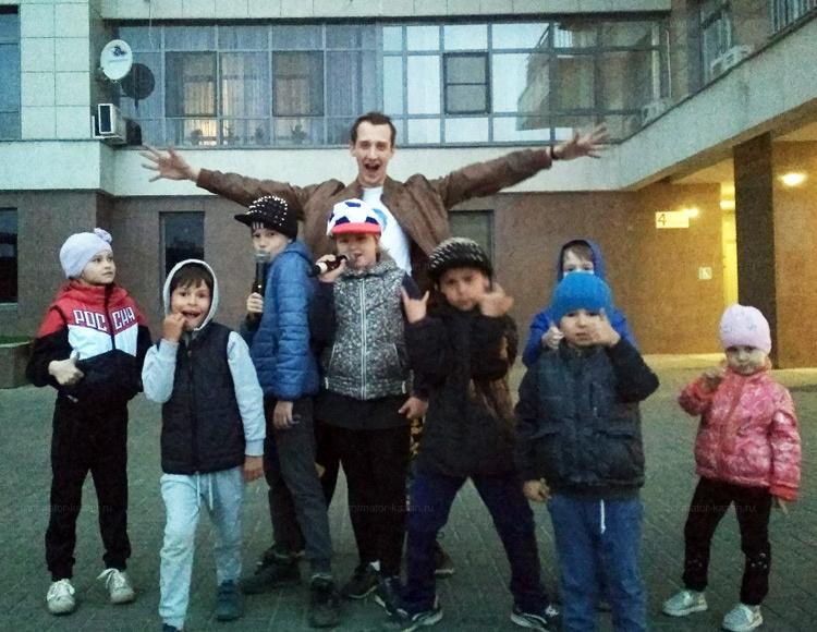 Отзыв о проведении праздника двора от animator-kazan.ru