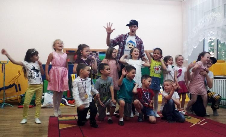 Отзыв о спортивном выпускном в детском саду от animator-kazan.ru