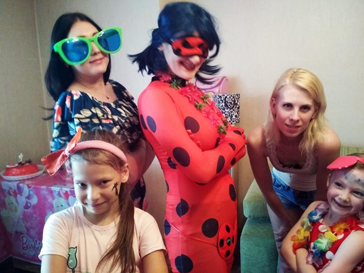 Отзыв о Леди баг от animator-kazan.ru
