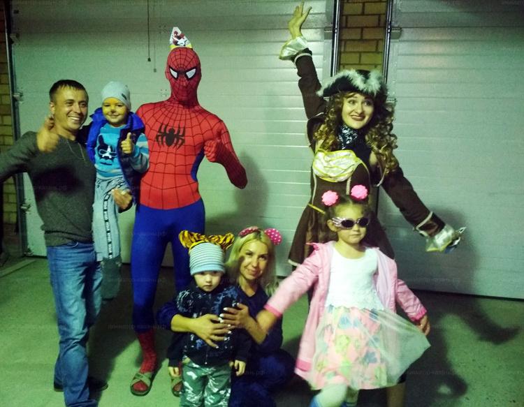 Отзыв о Пиратке и Человеке пауке от animator-kazan.ru