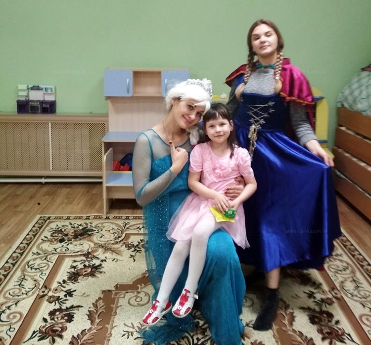 Отзыв об аниматорах Эльзе и Анна из м/ф