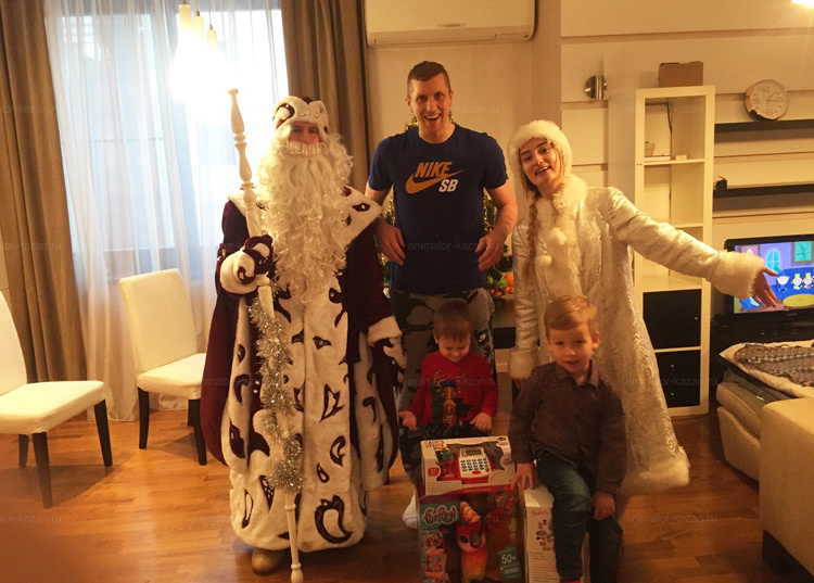 Отзыв о Боярском Дед морозе и снегурочке от animator-kazan.ru
