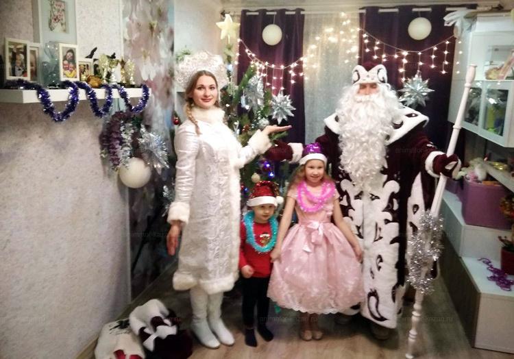 Боярский дед мороз и снегурочка от animator-kazan.ru