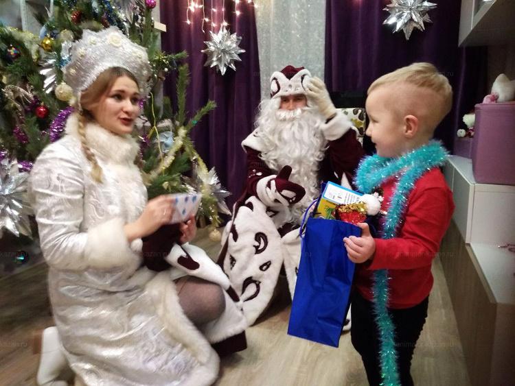 Отзыв о Дедушке морозе и снегурочке от animator-kazan.ru