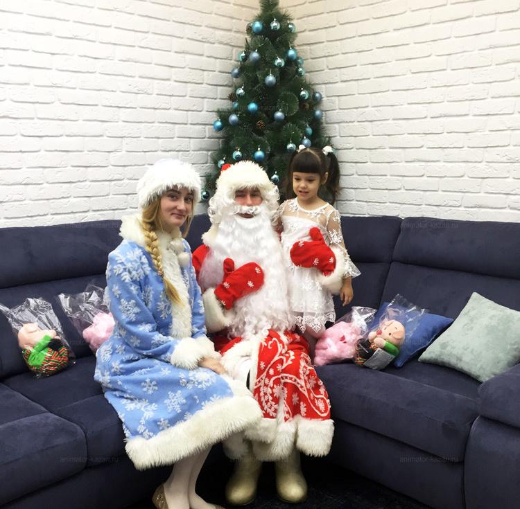 Отзыв о классическом Дед морозе от animator-kazan.ru