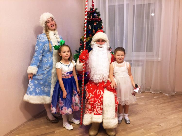 Классический дед мороз и снегурочка от animator-kazan.ru