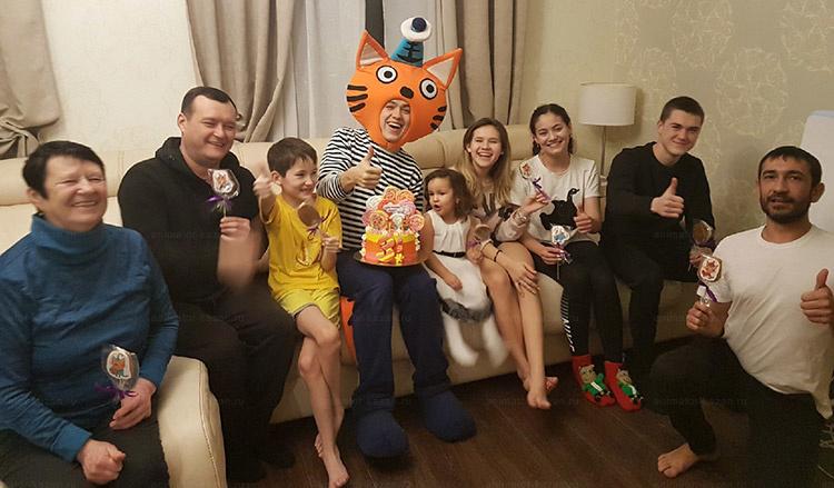Отзыв о Коружике и шоу гигантских пузырей от animator-kazan.ru